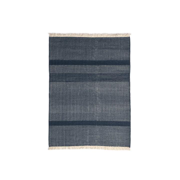 Der nanimarquina - Tres Texture 170 x 240 cm in blau