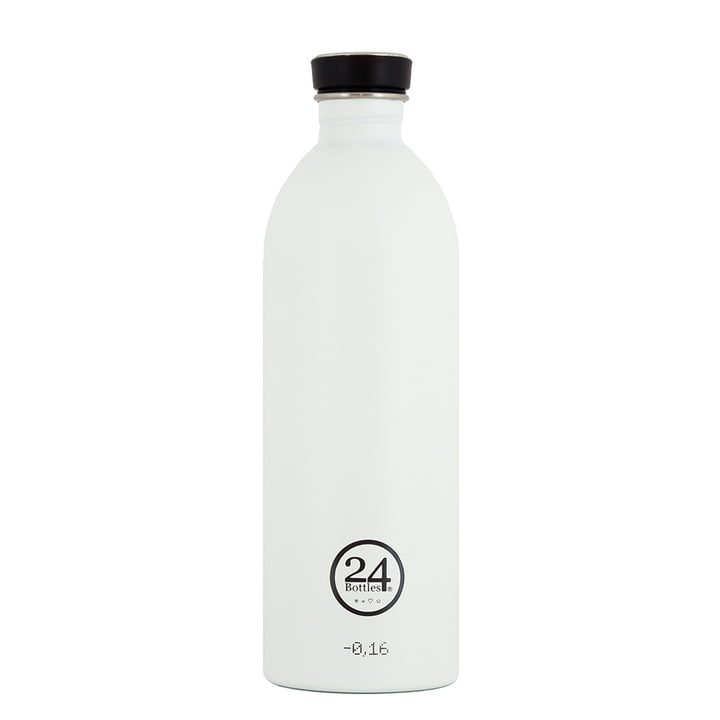 24Bottles - Urban Bottle 1.0 L, weiß