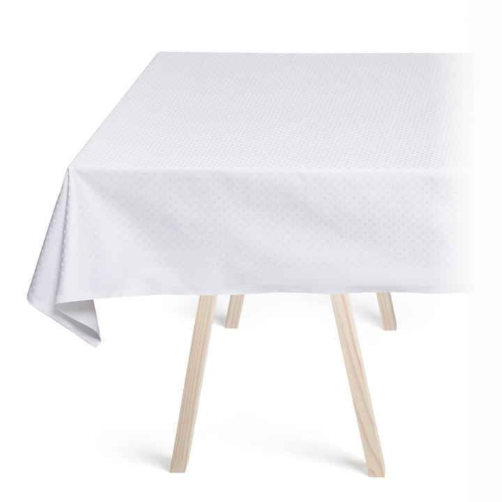 Snowflakes Tischdecke von Georg Jensen Damask in Weiß