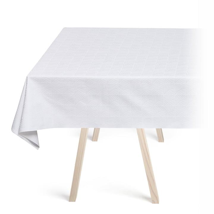 Die Georg Jensen Damask - Nanna Ditzel Tischdecke in weiß