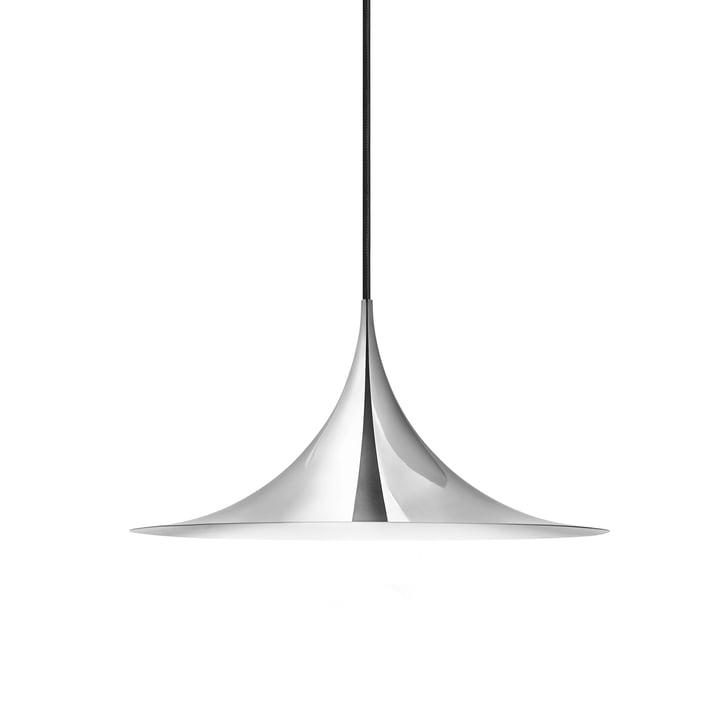 Semi Pendelleuchte Ø 30 cm von Gubi in Chrom