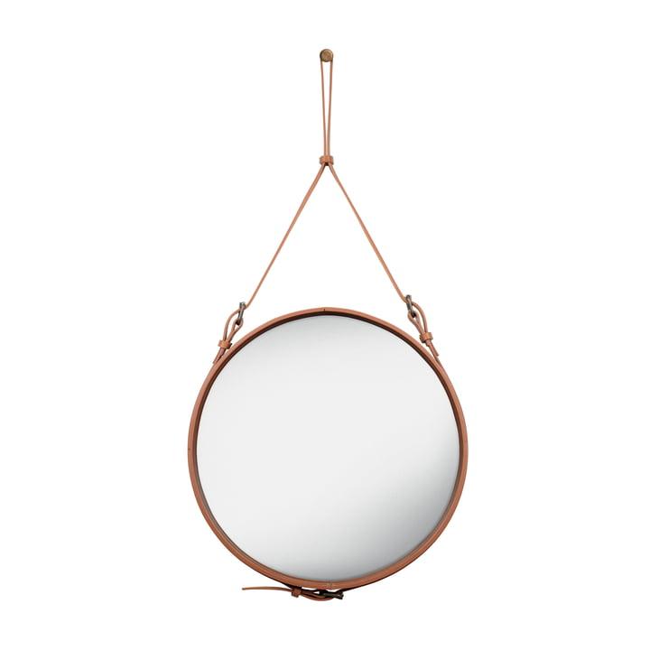 Adnet Spiegel Ø 58 cm von Gubi in Braun