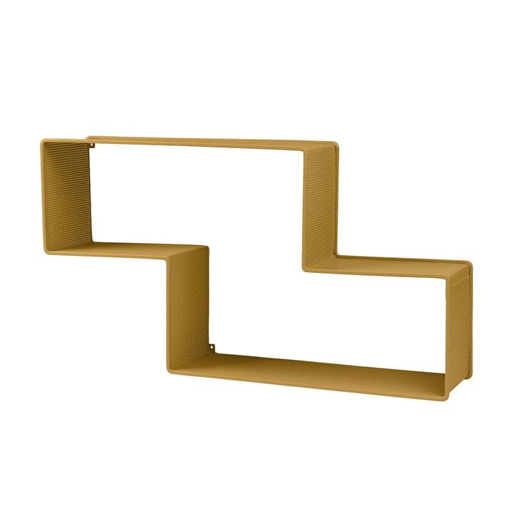 Dédal Bücherregal von Gubi in Venetian Gold