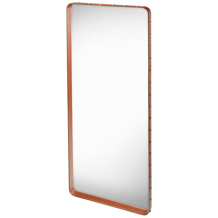 Adnet Spiegel 180 x 70 cm von Gubi in Braun