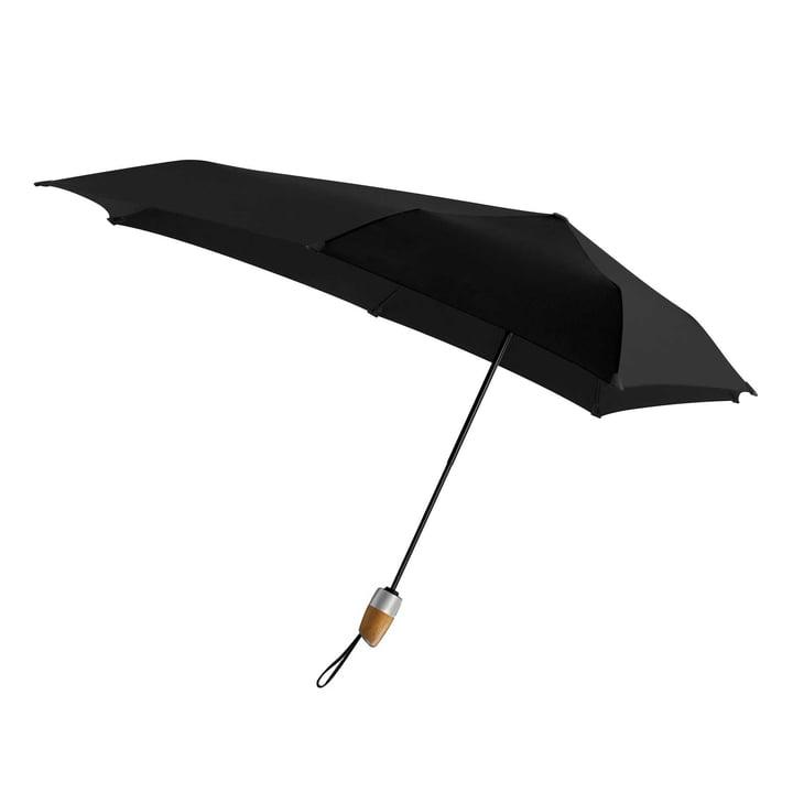 Senz - Regenschirm Automatic DELUXE, pure black