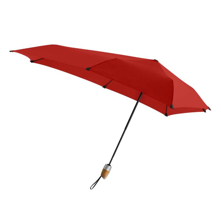 Regenschirm Automatic DELUXE von Senz in paraplu passion red