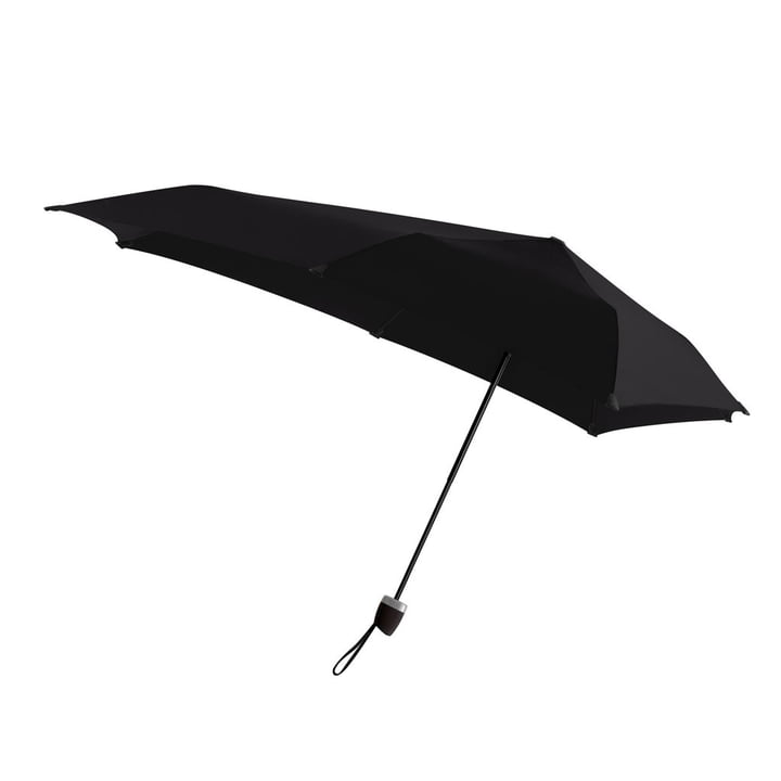 Senz - Regenschirm Manual, pure black