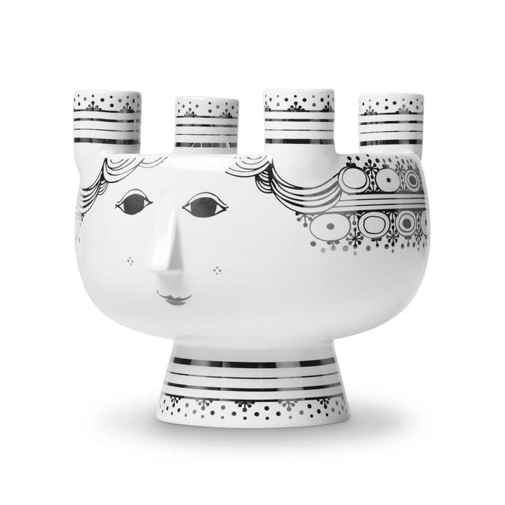Kerzenständer Lucia H 15 cm von Bjørn Wiinblad in Silber