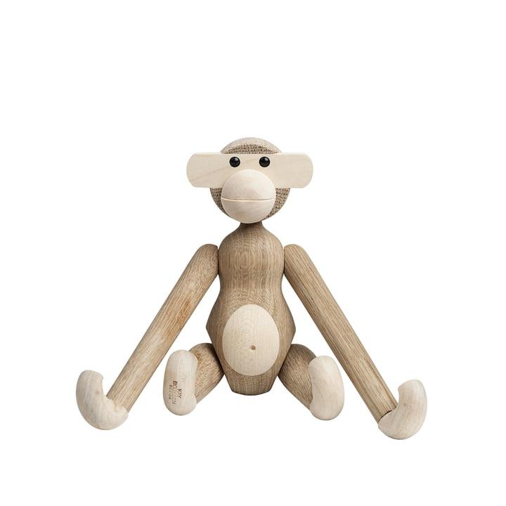 Holz-Affe klein von Kay Bojesen in Ahorn / Eiche natur