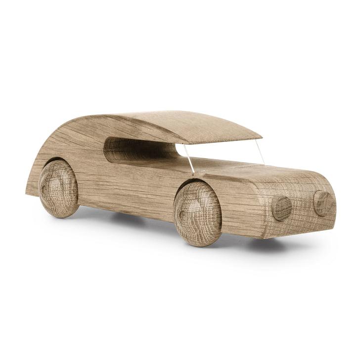 Automobil Sedan 27 cm von Kay Bojesen in Eiche Natur