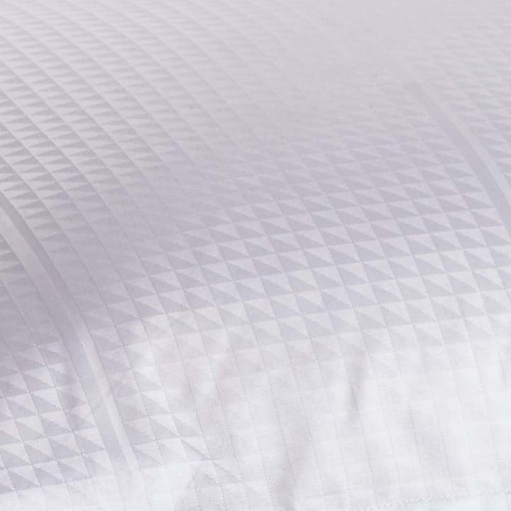 Facet Deckenbezug 140 x 200 cm von Georg Jensen Damask in Weiß