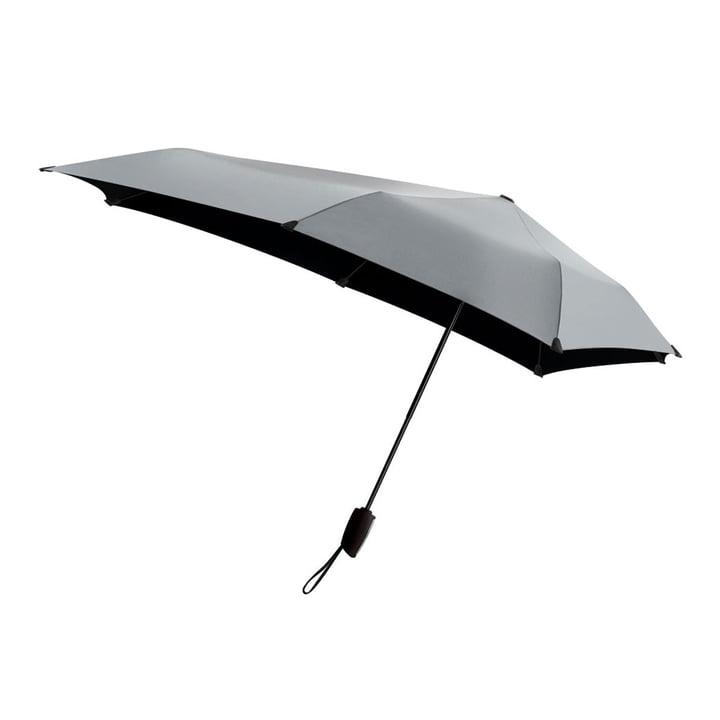 Regenschirm Automatic von Senz in Shiny Silver