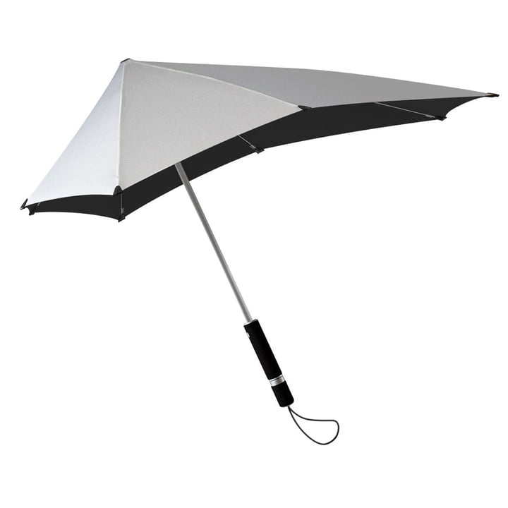 Regenschirm Original von Senz in Shiny Silver