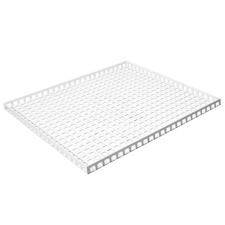 Pulpo - Tray, 35 x 30 cm, weiß