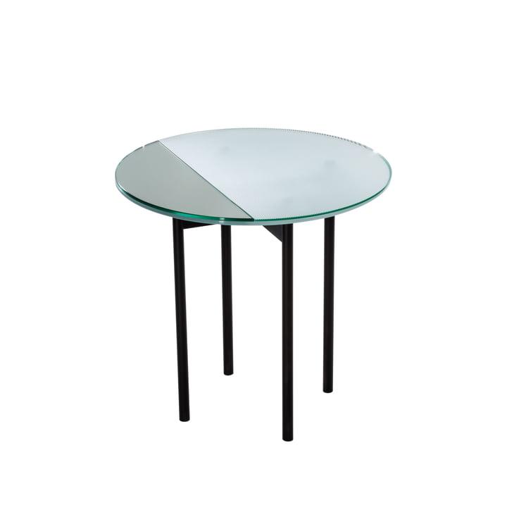 Gin Tisch high H 50 x Ø 50 cm von Pulpo in Glas / Schwarz