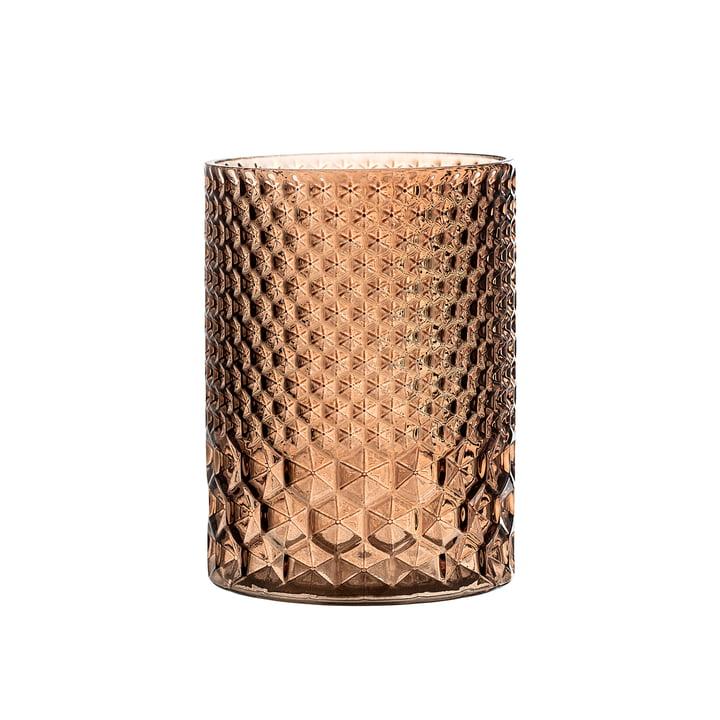 Teelichthalter Glas von Bloomingville in Braun