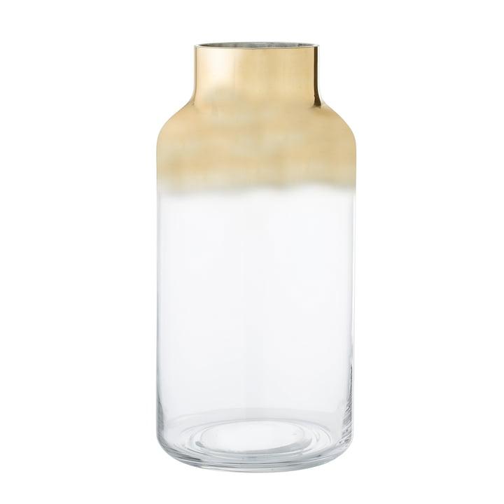 Die Bloomingville - Glas-Vase H 35 cm, gold