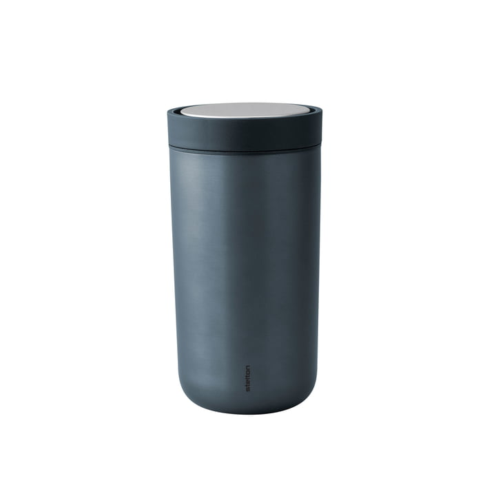 To Go Click 0,2 l von Stelton in Dunkelblau Metallic