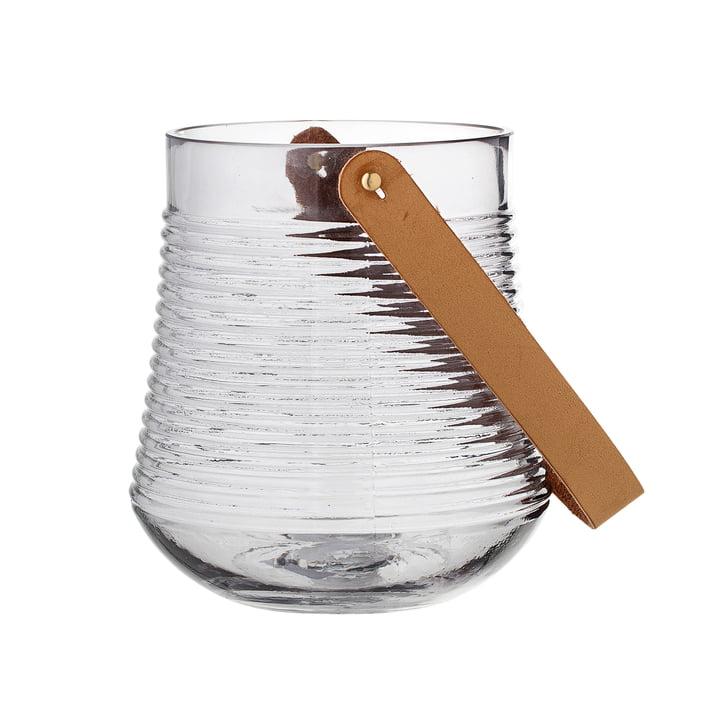 Glas-Laterne H17 cm von Bloomingville in klar