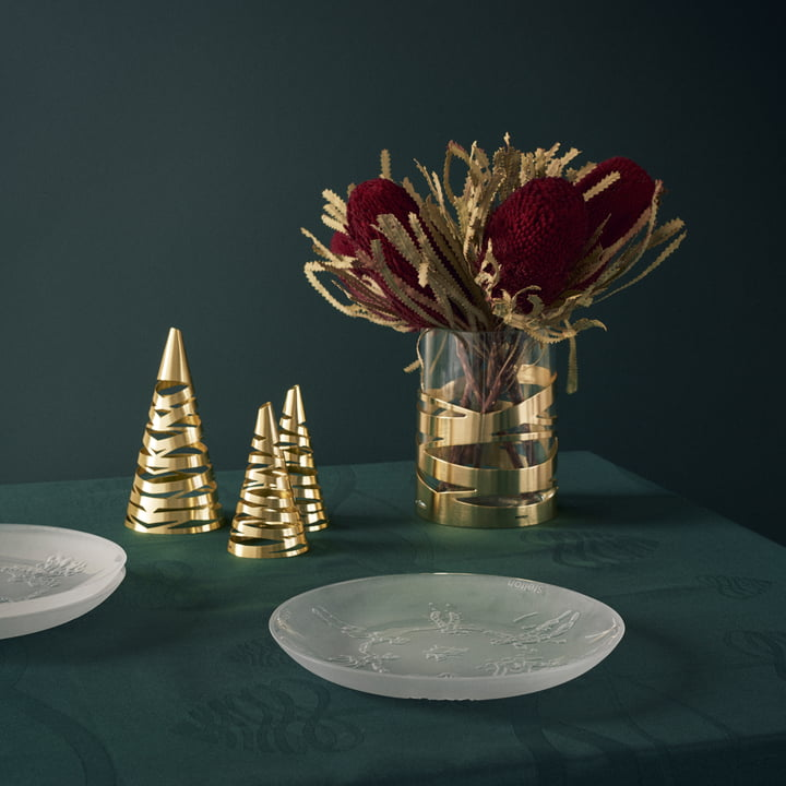 Weihnachtsteller A Family und Tangle Weihnachtsbaum von Stelton