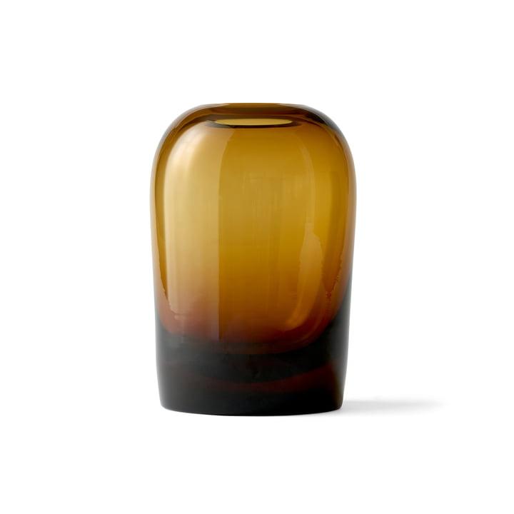 Troll Vase L von Menu in Bernstein