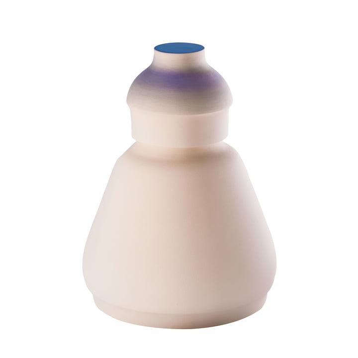 MakeupVase und Aubewahrungsbehälter medium von Pulpo in Weiß metallisiert