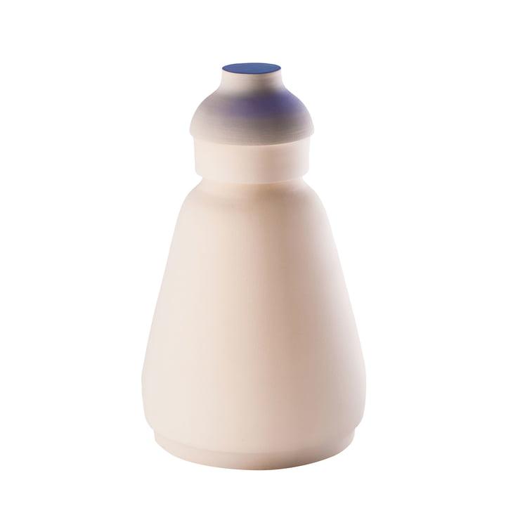MakeupVase und Aubewahrungsbehälter big von Pulpo in Weiß metallisiert