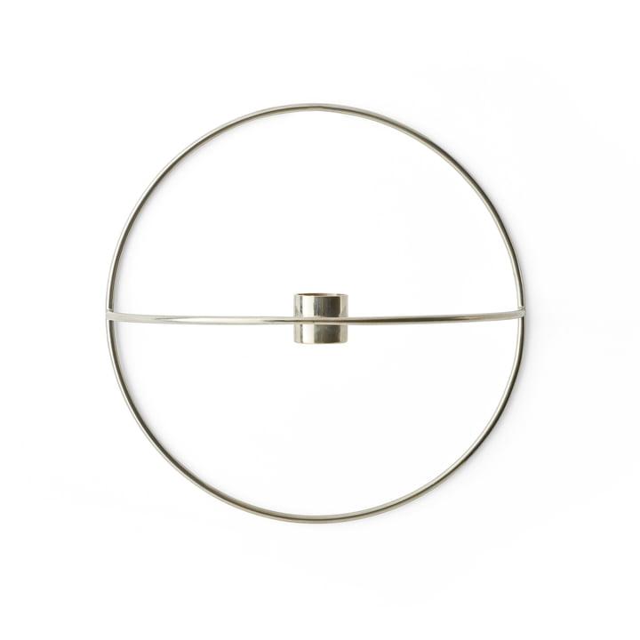 Der Menu - Pov Circle Kerzenhalter, S in silber