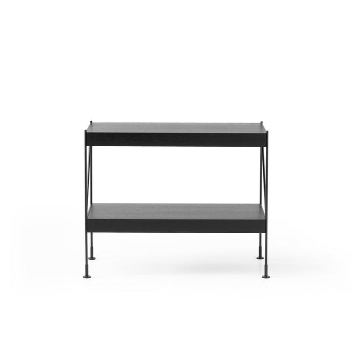 Das Menu - Zet Storing System Sideboard, 1 x 2 in schwarz / schwarz