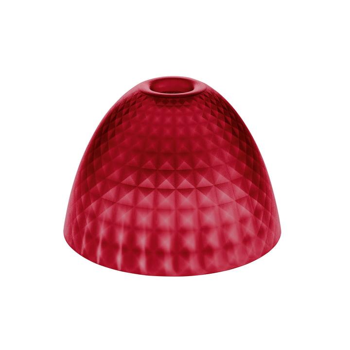Der Koziol - Stella Silk Lampenschirm S in transparent rot