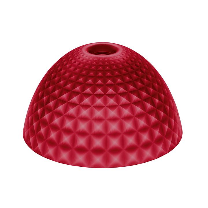 Der Koziol - Stella Silk Lampenschirm M in transparent rot