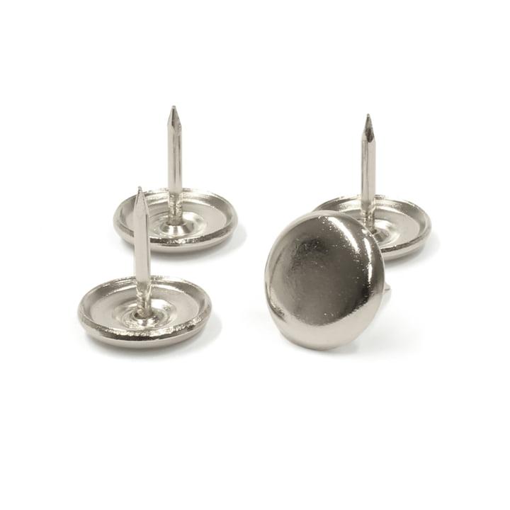 Thonet - Gleiter für Holzstühle, Metallgleiter (4 Stück)