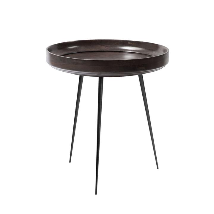 Bowl Table medium Ø 46 x H 52 cm von Mater in Sirka Grey
