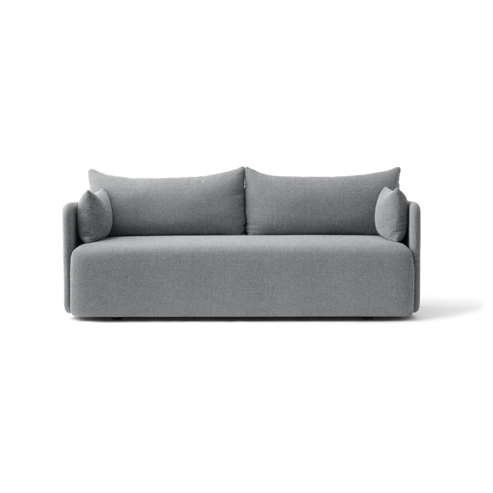 Das Menu - Offset Sofa 2-Sitzer in hellgrau (Hallingdal 130)