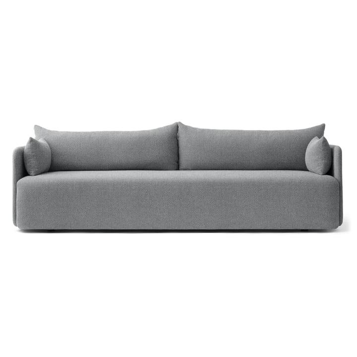 Das Menu - Offset Sofa 3-Sitzer in hellgrau (Hallingdal 130)