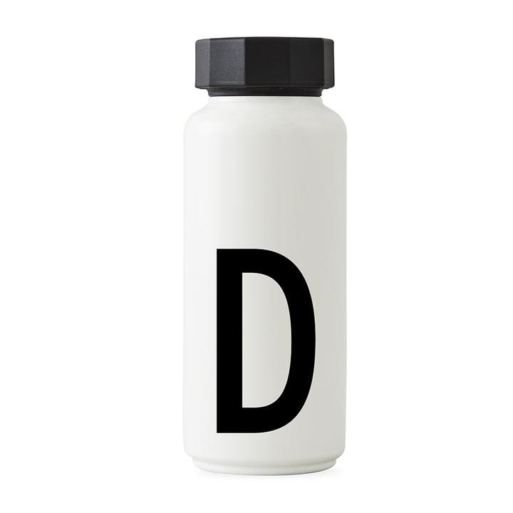 AJ Thermoflasche D von Design Letters in Weiß