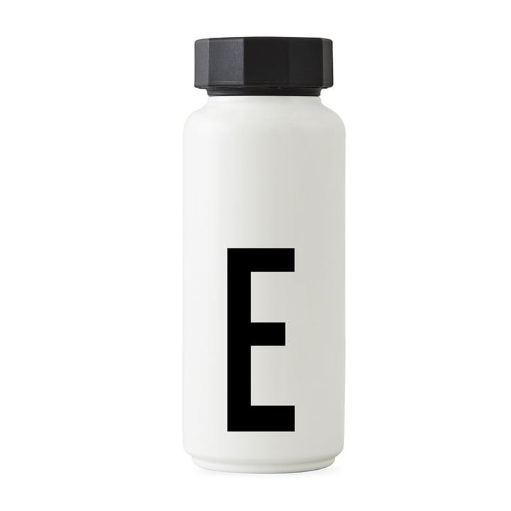 AJ Thermoflasche E von Design Letters in Weiß
