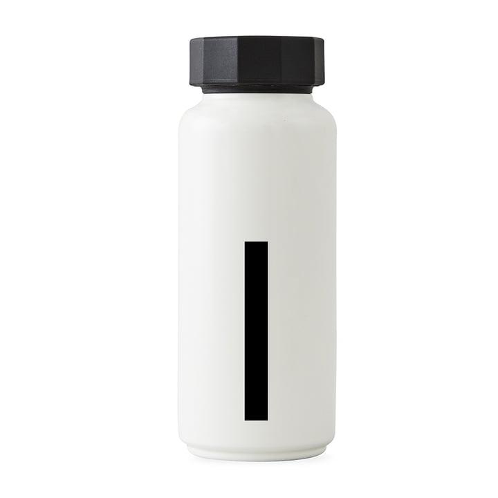 AJ Thermoflasche I von Design Letters in Weiß