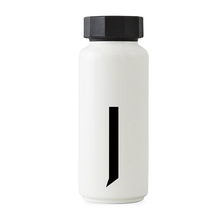 AJ Thermoflasche J von Design Letters in Weiß
