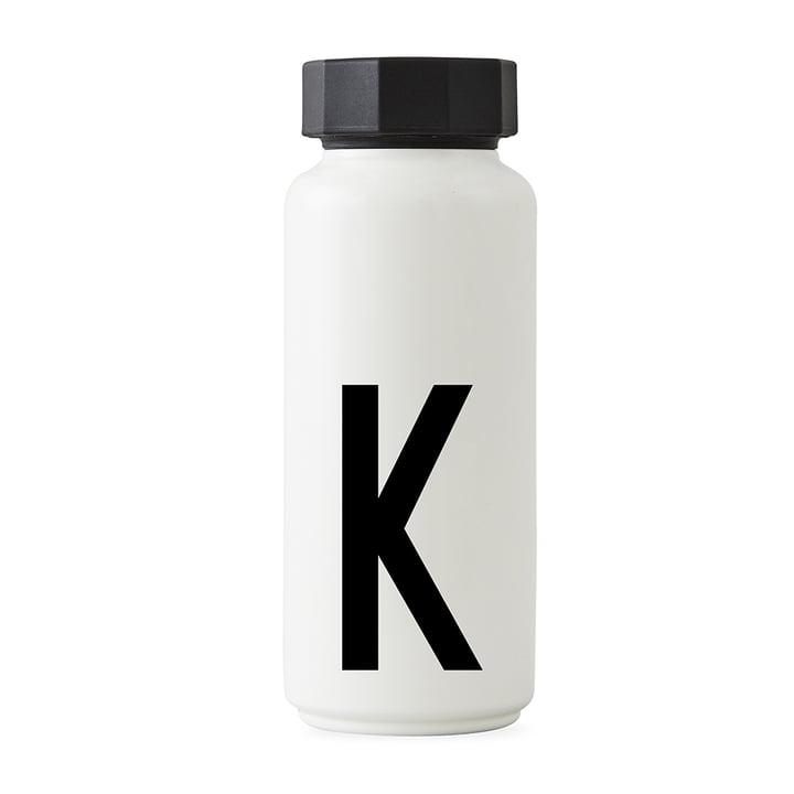 AJ Thermoflasche K von Design Letters in Weiß