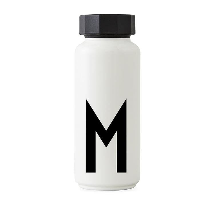 AJ Thermoflasche M von Design Letters in Weiß