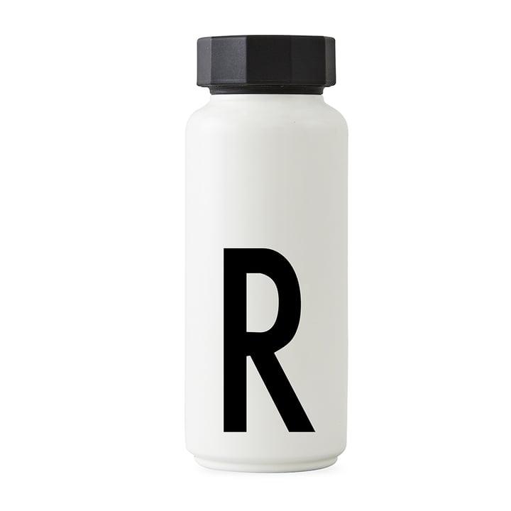AJ Thermoflasche R von Design Letters in Weiß