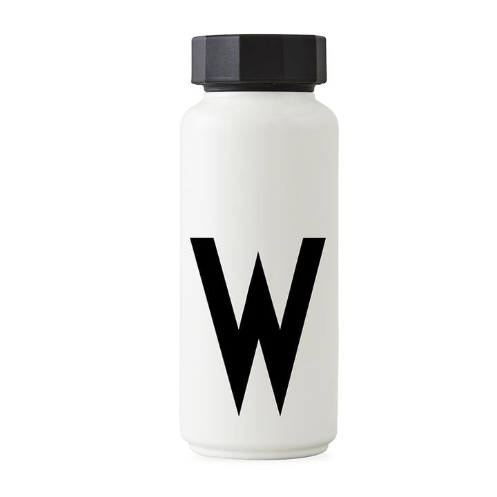 AJ Thermoflasche W von Design Letters in Weiß