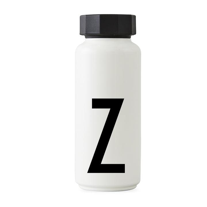 AJ Thermoflasche Z von Design Letters in Weiß