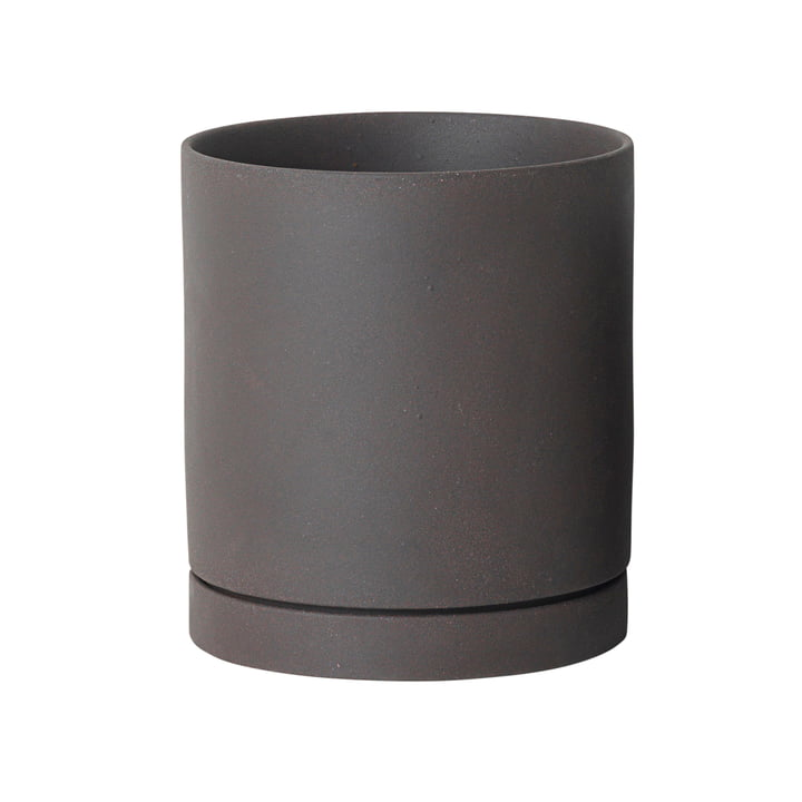 Sekki Topf large von ferm Living in Charcoal