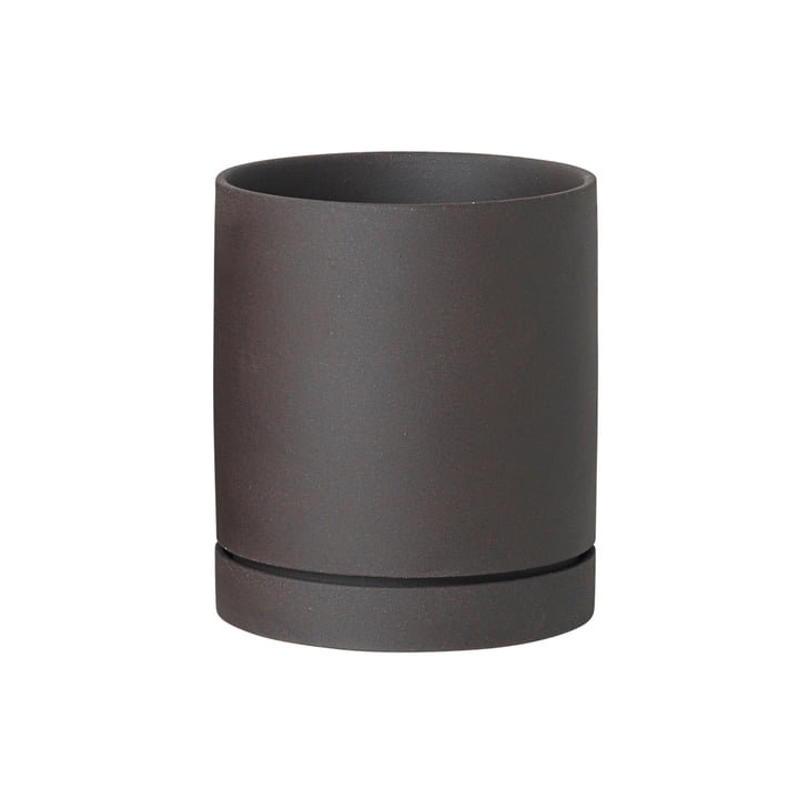 Sekki Topf medium von ferm Living in Charcoal