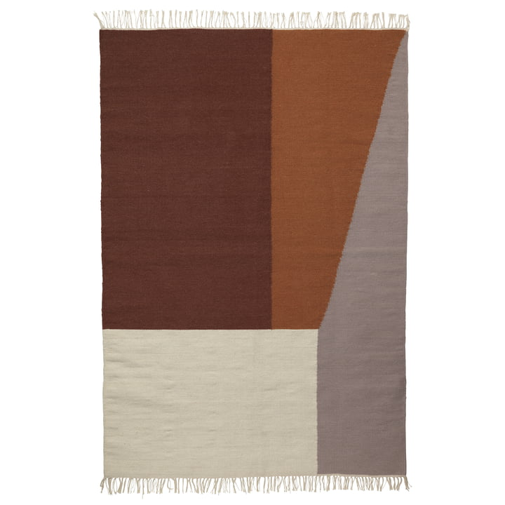 Kelim Rug Borders XL von ferm Living