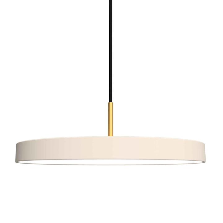 Asteria Pendelleuchte LED von Umage in Pearl
