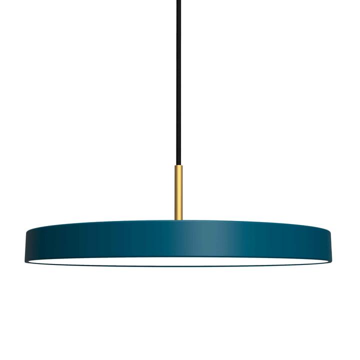 Asteria Pendelleuchte LED von Umage in Petrol