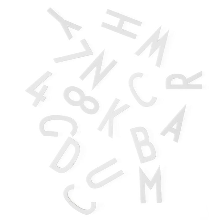 Buchstaben-Set H 5 cm von Design Letters in Weiß